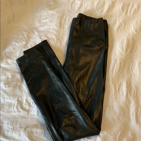 Wilfred Free Daria Leggings faux leather